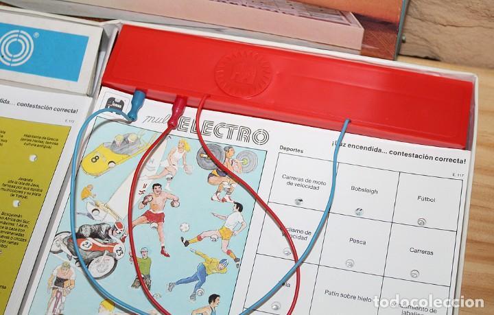 Juegos educativos: MULTI ELECTRO 720 - COMPLETO Y FUNCIONANDO - AÑO 1978 - JUMBO - Foto 4 - 213548800