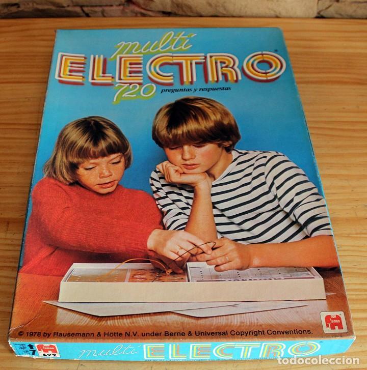 Juegos educativos: MULTI ELECTRO 720 - COMPLETO Y FUNCIONANDO - AÑO 1978 - JUMBO - Foto 5 - 213548800