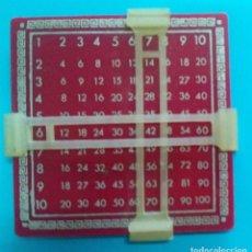 Juegos educativos: PITAGORIN -TABLA DE MULTIPLICAR (MUY CURIOSA ) - UNICA EN INTERNET. Lote 213737647