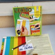 Juegos educativos: JUEGO EDUCATIVO LEXICO BILINGUE ESPAÑOL EUSKERA FABRICADO HERMANOS SALLENT SABADELL. Lote 214542843