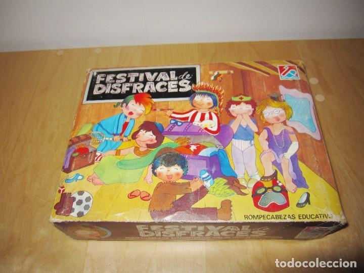 Juegos educativos: Juego Festival de disfraces. Circa 1980 - Foto 19 - 214943211