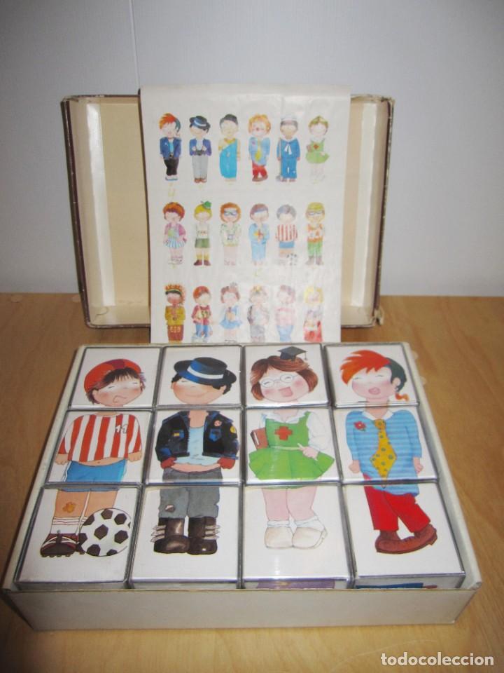 Juegos educativos: Juego Festival de disfraces. Circa 1980 - Foto 2 - 214943211