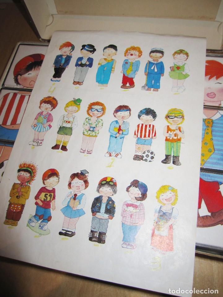 Juegos educativos: Juego Festival de disfraces. Circa 1980 - Foto 4 - 214943211
