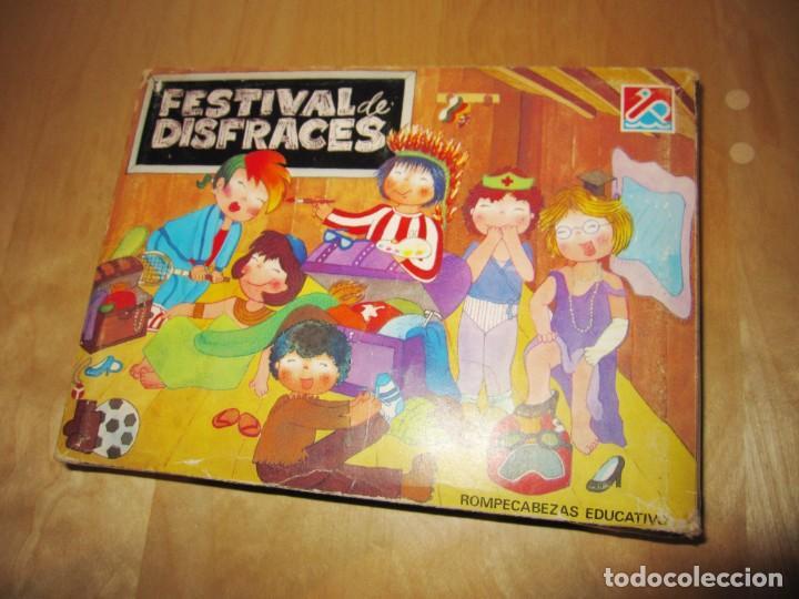 Juegos educativos: Juego Festival de disfraces. Circa 1980 - Foto 5 - 214943211