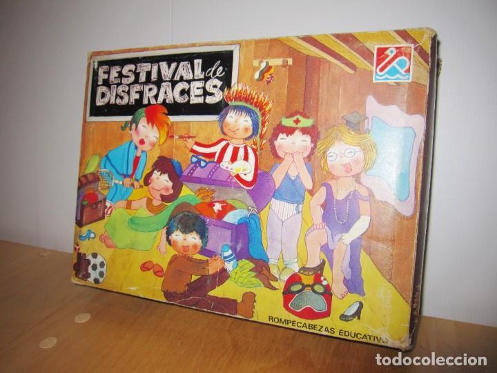JUEGO FESTIVAL DE DISFRACES. CIRCA 1980 (Juguetes - Juegos - Educativos)