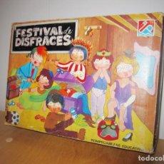 Juegos educativos: JUEGO FESTIVAL DE DISFRACES. CIRCA 1980. Lote 214943211
