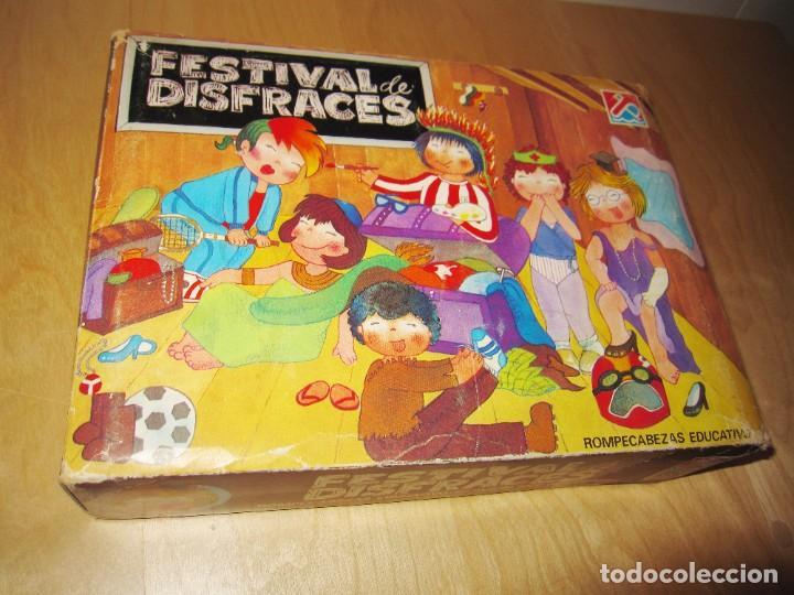 Juegos educativos: Juego Festival de disfraces. Circa 1980 - Foto 13 - 214943211