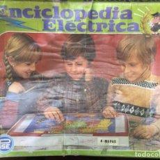 Juegos educativos: JUEGO MESA CAJA ENCICLOPEDIA ELECTRICA MAPAS PSE 6X45X53CMS. Lote 216712311