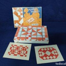Juegos educativos: AZULEJOS MÁGICOS. PUZZLE DE FIGURAS GEOMÉTRICAS. CAJA ORIGINAL NUEVO AÑOS 1960,S. Lote 217058995