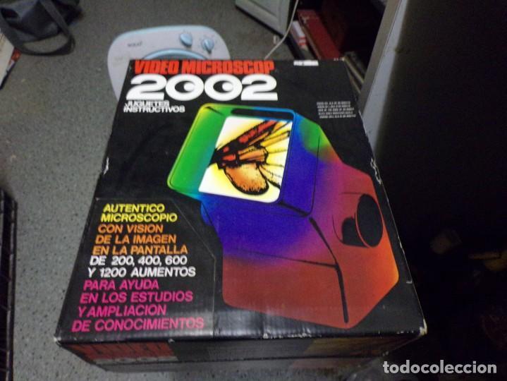 VIDEO MICROSCOP 2002 JUGUETES INSTRUCTIVOS NUEVO RESTO DE TIENDA VINTAGE (Juguetes - Juegos - Educativos)