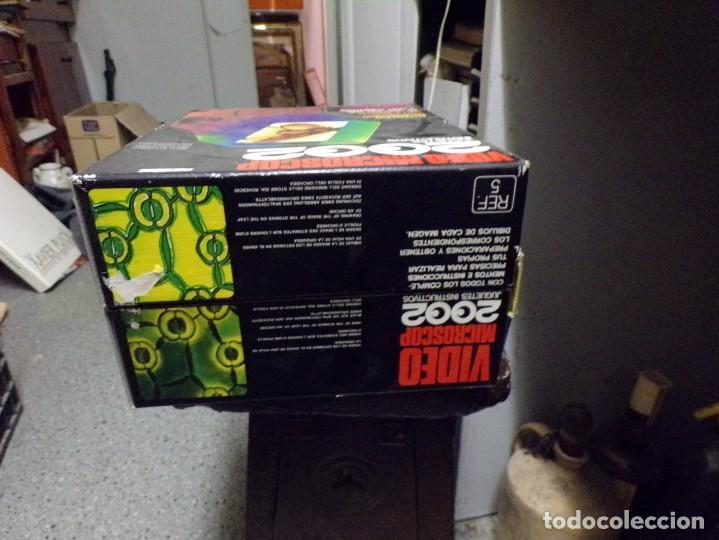 Juegos educativos: video microscop 2002 juguetes instructivos nuevo resto de tienda vintage - Foto 4 - 217630755