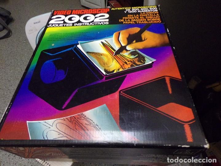 Juegos educativos: video microscop 2002 juguetes instructivos nuevo resto de tienda vintage - Foto 5 - 217630755