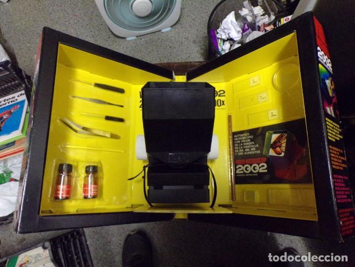 Juegos educativos: video microscop 2002 juguetes instructivos nuevo resto de tienda vintage - Foto 6 - 217630755