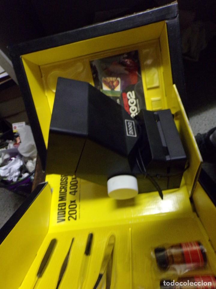 Juegos educativos: video microscop 2002 juguetes instructivos nuevo resto de tienda vintage - Foto 7 - 217630755