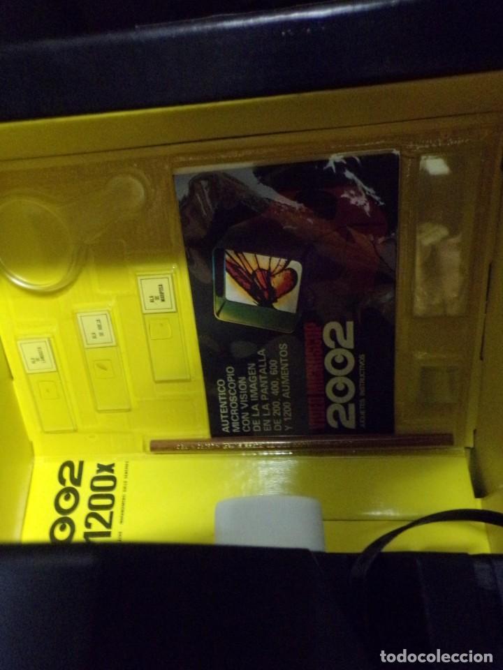 Juegos educativos: video microscop 2002 juguetes instructivos nuevo resto de tienda vintage - Foto 8 - 217630755