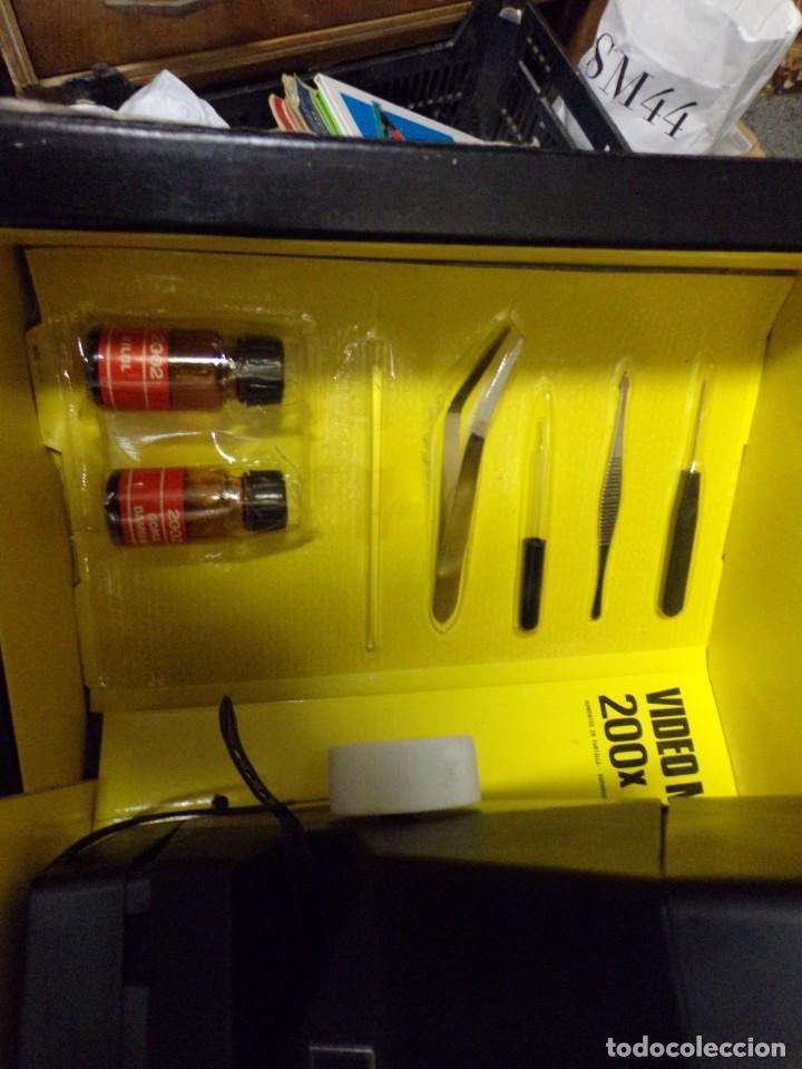 Juegos educativos: video microscop 2002 juguetes instructivos nuevo resto de tienda vintage - Foto 9 - 217630755