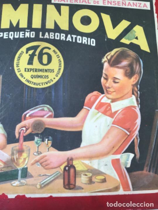 Juegos educativos: ANTIGUO JUEGO CHEMINOVA Nº1 , CON LOS INGREDIENTES Y OBJETOS EN CRISTAL , ORIGINAL AÑOS 40- 50 - Foto 9 - 217744533