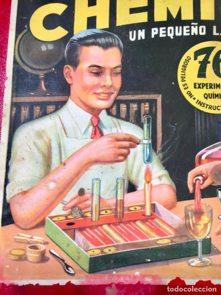 Juegos educativos: ANTIGUO JUEGO CHEMINOVA Nº1 , CON LOS INGREDIENTES Y OBJETOS EN CRISTAL , ORIGINAL AÑOS 40- 50 - Foto 10 - 217744533