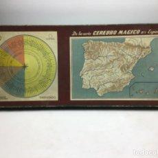 Juegos educativos: ANTIGUO JUEGO CEREBRO MAGICO - Nº 1 EN ESPAÑA AÑO 1949. Lote 217933927