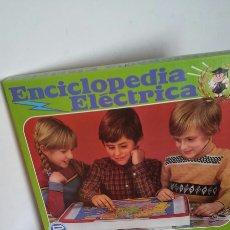 Juegos educativos: ENCICLOPEDIA ELÉCTRICA 4 MAPAS.PSE SANTA ELENA 80S.NUEVO EN CAJA.. Lote 218178326