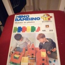 Juegos educativos: ANTIGUO JUEGO MINO BAMBINO. Lote 218197907