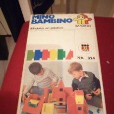 Juegos educativos: ANTIGUO JUEGO MINO BAMBINO. Lote 218201500
