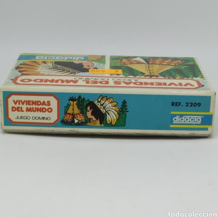 Juegos educativos: Viviendas del mundo, juego Dominó de DIDACTA referencia 2209, años 70, nuevo a estrenar - Foto 3 - 218548867