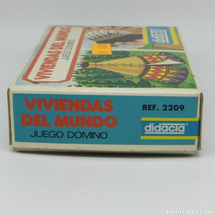 Juegos educativos: Viviendas del mundo, juego Dominó de DIDACTA referencia 2209, años 70, nuevo a estrenar - Foto 4 - 218548867