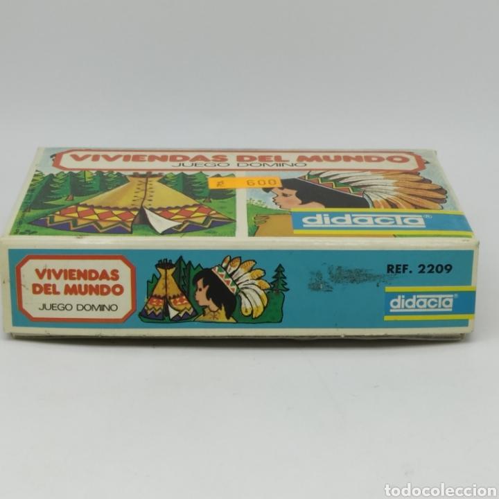 Juegos educativos: Viviendas del mundo, juego Dominó de DIDACTA referencia 2209, años 70, nuevo a estrenar - Foto 5 - 218548867