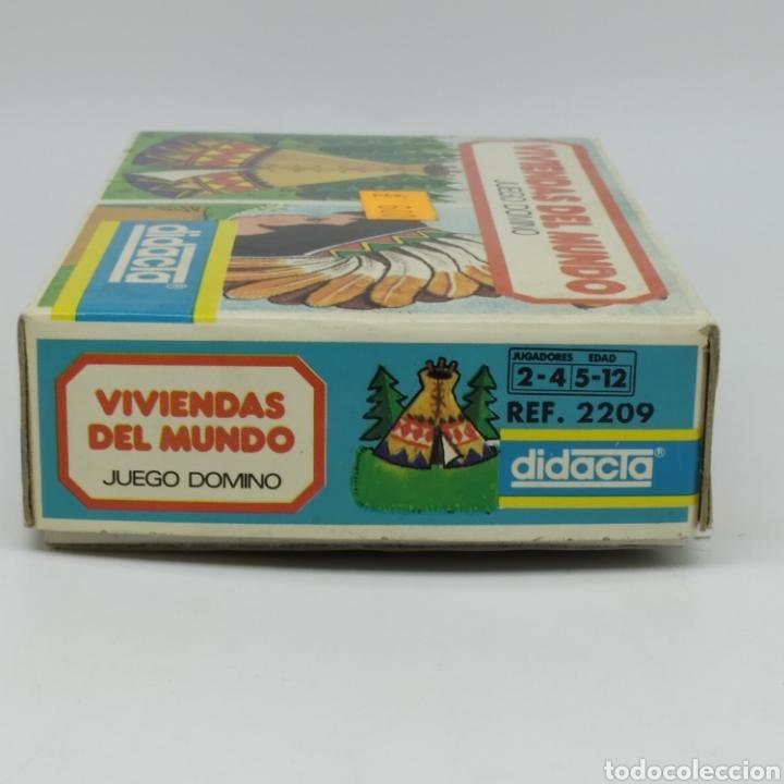 Juegos educativos: Viviendas del mundo, juego Dominó de DIDACTA referencia 2209, años 70, nuevo a estrenar - Foto 6 - 218548867