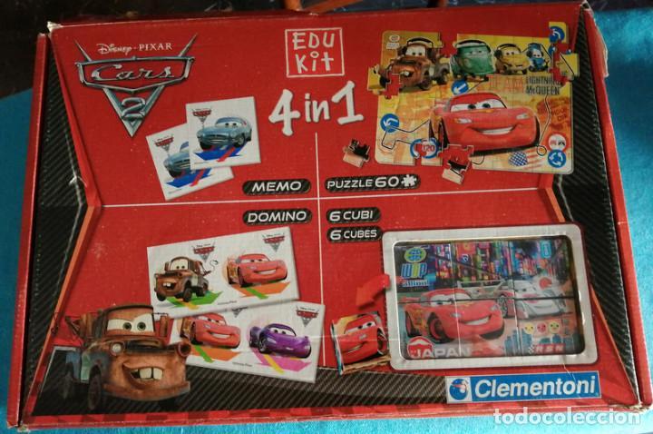 CARS 2, 4 EN 1 (CLEMENTONI) (Juguetes - Juegos - Educativos)