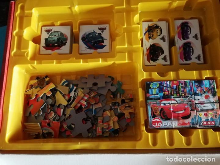 Juegos educativos: Cars 2, 4 en 1 (Clementoni) - Foto 2 - 218862990