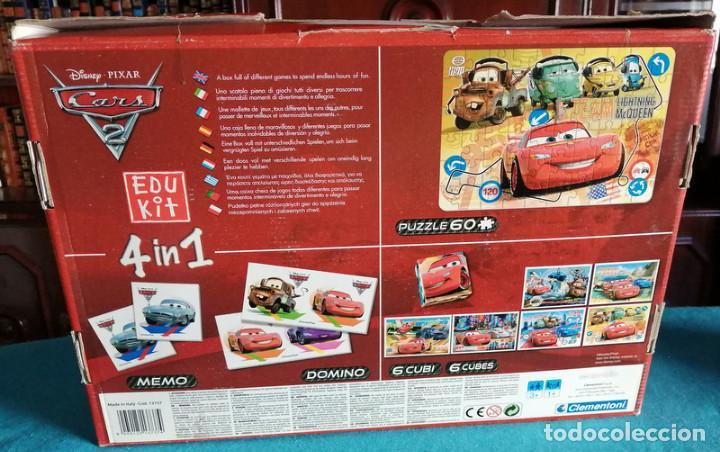 Juegos educativos: Cars 2, 4 en 1 (Clementoni) - Foto 4 - 218862990