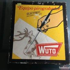 Juegos educativos: EQUIPO PIROGRABADOR ELECTRICO WUTO. Lote 219535471