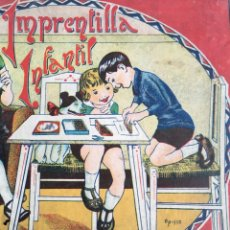 Juegos educativos: IMPRENTILLA INFANTIL. SERIE E. PORTADA DE OPISSO.. Lote 219620705