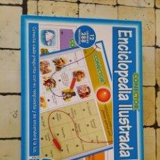 Juegos educativos: JUEGO ENCICLOPEDIA ILUSTRADA, CONECTOR DE MORRAS.. Lote 219988752