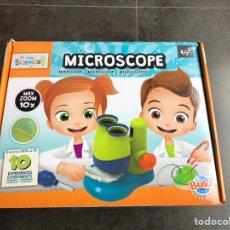 Juegos educativos: BUKI MICROSCOPIO 10 EXPERIMENTOS. Lote 221660740