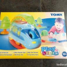 Juegos educativos: TOMY MI PRIMER TREN. Lote 221660903