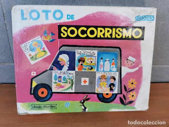 LOTO DE SOCORRISMO. JUEGO EDUCATIVO. DIDACTA. REF 700 (Juguetes - Juegos - Educativos)