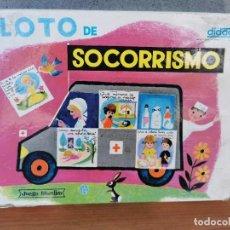 Juegos educativos: LOTO DE SOCORRISMO. JUEGO EDUCATIVO. DIDACTA. REF 700. Lote 222084765