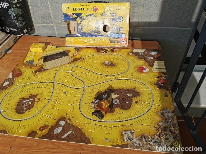 WALL. E PUZZLE - CIRCUIT MUSICAL DE DISNEY PIZZAR (Juguetes - Juegos - Educativos)