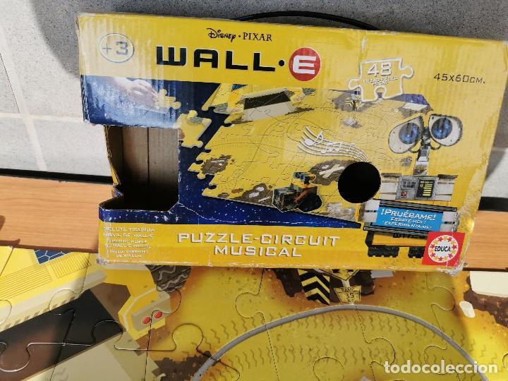 Juegos educativos: WALL. E PUZZLE - CIRCUIT MUSICAL DE DISNEY PIZZAR - Foto 2 - 222085375