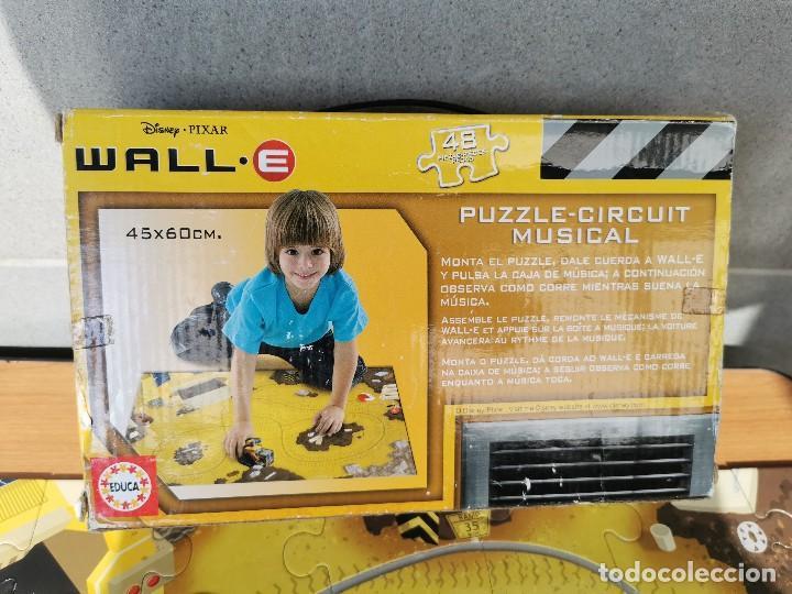 Juegos educativos: WALL. E PUZZLE - CIRCUIT MUSICAL DE DISNEY PIZZAR - Foto 3 - 222085375