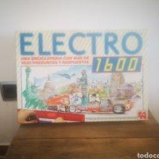 Juegos educativos: UEGO ANTIGUO - ELECTRO 1600 DE JUMBO. Lote 222233127