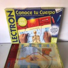 Juegos educativos: LECTRON - CONOCE TU CUERPO. Lote 222365186