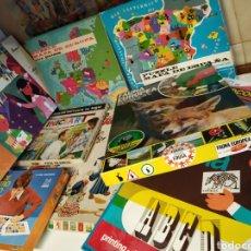 Juegos educativos: LOTE 10 JUEGOS DE MESA. Lote 222456327