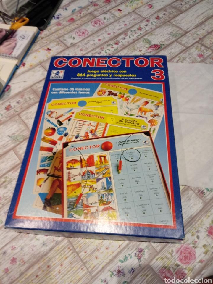 JUEGO CONECTOR 3. AÑOS 80 DE BORRAS (Juguetes - Juegos - Educativos)