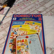 Juegos educativos: JUEGO CONECTOR 3. AÑOS 80 DE BORRAS. Lote 222710892
