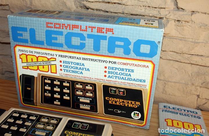 Juegos educativos: ANTIGUO COMPUTER ELECTRO 1001, DE JUMBO Y DISET + LIBROS 1. EN SU CAJA ORIGINAL Y FUNCIONANDO - Foto 2 - 222748608