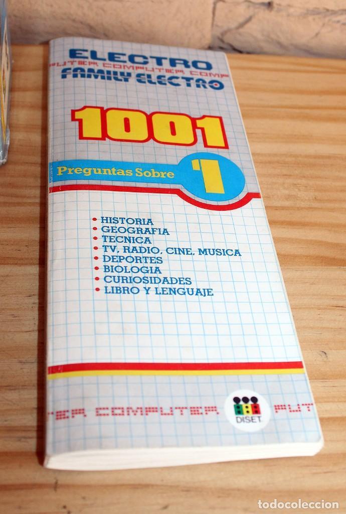 Juegos educativos: ANTIGUO COMPUTER ELECTRO 1001, DE JUMBO Y DISET + LIBROS 1. EN SU CAJA ORIGINAL Y FUNCIONANDO - Foto 3 - 222748608